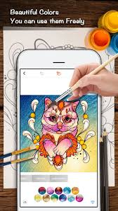Small Picture Color Doodle Coloring Book for Adults on the App Store