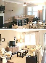 living room on a budget before and after living room remodel diy living room makeover on