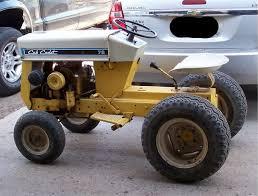 cub cadet garden tractor by international harvester unofficial cub done ih cub cadet model 73 garden tractor 1969 71