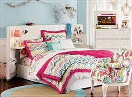 Bedroom:Luxurious Modern Teenage Girl Bedroom With Double Twin Storage Beds  Creative Decor For Modern