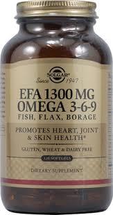 <b>Solgar EFA</b> Omega 3-6-9 -- <b>1300 mg</b> - 120 Softgels - Buy Online in ...