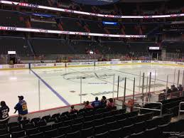 Capitals Interactive Seating Chart Capital One Arena Section 110 Washington Capitals