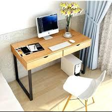 home office furniture modern. Minimal Computer Desk Modern Minimalist Style Dresser Iron Wood Home Office Furniture Simple And Fresh Desktop