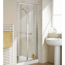 image is loading lakes classic semi frameless bi fold shower door
