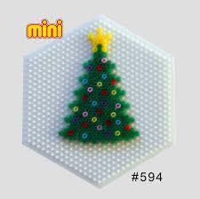 How To Make Chrismas Tree 3D Ornaments Of Hama O Perler Beads 2015 Perler Beads Christmas Tree