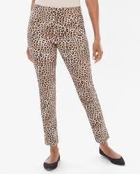 So Slimming By Chico S Size Chart So Slimming Juliet Leopard Print Ankle Pants