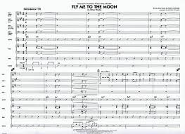 Fly Me To The Moon In Other Words 4 Horn Combo Easy