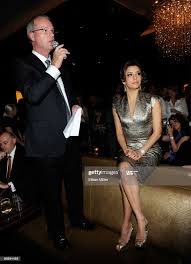 CityCenter President and CEO Bobby Baldwin and actress Eva Longoria... News  Photo - Getty Images