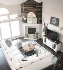 how to arrange furniture with a corner