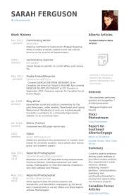 Contributing Writer Resume Samples Visualcv Resume Samples Database