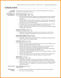 Resume Objective For Customer Service 100 objective for customer service resume emails sample 61