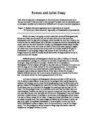 romeo and juliet luhrmann and zeffirelli film comparison essay  related gcse romeo and juliet essays