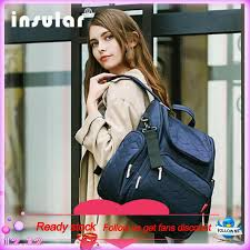 <b>Insular</b> Elegant Baby Diaper Backpacks Bag | Shopee Philippines