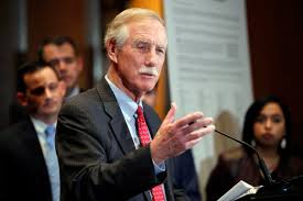 Angus King: Anti-Terrorism Efforts Could Require 'Indefinite Presence' In  Afghanistan, Syria | Maine Public