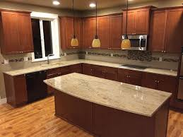 Granite Countertop Backsplash Delectable Astoria Granite Countertop Backsplash Ideas Informations Kitchen