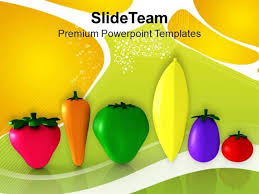 powerpoint them vegetables good for health nutrition powerpoint templates ppt them