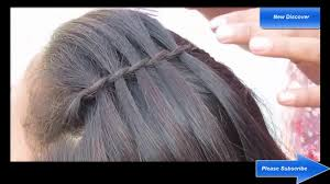 Hair Style Simple how make a simple hairstyle 2017 youtube 6329 by wearticles.com