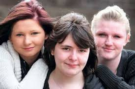 Sophie George(left), Katrina Jeffs, and Britney Taylor. Young women in the north of England face the toughest struggle of anyone in the jobs market to find ... - C_71_article_1485669_image_list_image_list_item_1_image