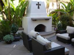 concrete outdoor fireplaces