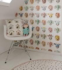 Kidsroom Girlsroom Wallpaper Pink Nursery Behang Kinderkamer