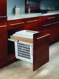 Amazon Com Rev A Shelf Top Mount Hamper 15 Wide Home Kitchen