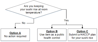 Sample Haccp Flow Chart Sushi Rice Haccp Guidelines And Plan Templates Food Safety