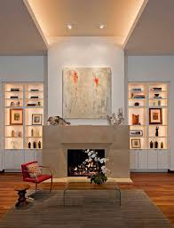 Living Room Shelves Decorating High Ceiling Rooms And Decorating Ideas For Them