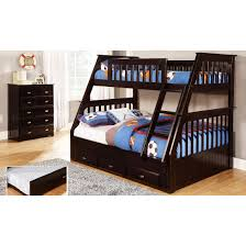 Expresso Twin over Full Mission Bunk Bed Discovery World Furniture