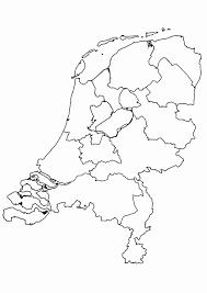 Kleurplaat Europa Elegant Kaart Nederland Kleurplaat Archidev