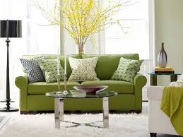 stylish floor lamps for living room with sofa green