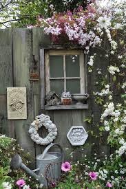 Vintage style fence. Garden Fence Ideas 3