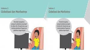 Bahasa indonesia 3.1 menyimpulkan informasi berdasarkan teks laporan hasil pengamatan yang didengar dan dibaca. Kunci Jawaban Kelas 6 Tema 4 Halaman 52 53 54 57 Buku Tematik Siswa Sd Subtema 2 Pembelajaran 1 Globalisasi Topiktrend