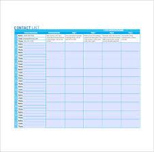 emailing list template list templates 105 free word excel pdf psd indesign format