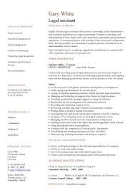 Company secretary CV, Legal assistant CV