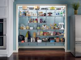 Kitchen Closet Shelving Pullout Pantry Shelving Solutions Hgtv