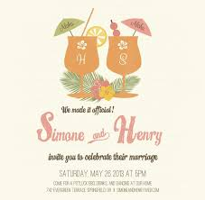 8 best wedding party invites images on pinterest Wedding Announcement And Reception Invitation \