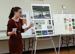 Student Presentation Interior Design Students Work Out New Designs For Recreational