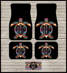 car floor mats for women. Car Mats Aztec Turtle Monogram Tribal Personalized Custom License Cute Accessories For Women Floor Mat Gift Ideas Sweet 16 R