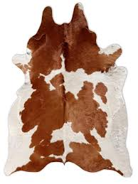 brown and white cow print rug brown white cowhide rug favorite places spaces home remodel