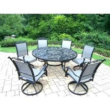 7 piece patio furniture 7 piece patio furniture patio furniture sets with swivel rockers aluminum 7