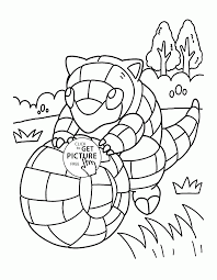 Pokemon Sandshrew Coloring Pages For Kids