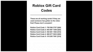 gallery of roblox gift card code generator