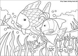 Small Picture rainbow fish coloring page images free printable Free Coloring