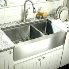 composite farmhouse sink photo 3 of 8 review stainless kitchen sinks double bowl steel inch blanco silgranit 33