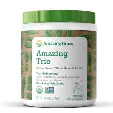 Amazing Grass, The <b>Amazing Trio</b>, <b>Barley Grass</b> & Wheat Grass ...