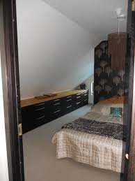 Before Styling Pic Built In Bookcase Fort Greene Brooklyn - Custom bedroom cabinets