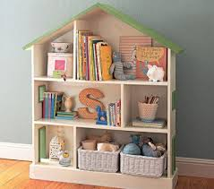For this purpose, choose bookshelf that is not very high but your child can  access