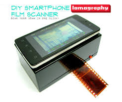 picture of diy smartphone scanner
