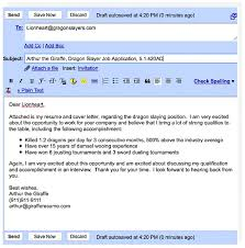 Sending A Resume By Email Subject Line For Examples How To Attach A Resume  And Cover ...