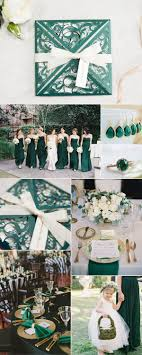 Five Stylish Wedding Invitations to Perfectly Match Your Wedding Colors.  Sapphire Wedding ThemeEmerald Green ...